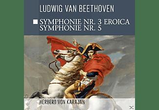 Philharmonia Orchstra - Sinfonie 3 Eroica, Sinfonie 5  - (CD)