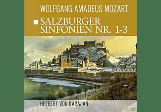 Camerata Academica Salzburg, Philharmonie Orchestra - Salzburger Sinfonien 1-3  - (CD)