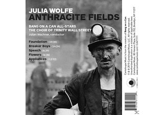Bang On A Can All-stars, Choir of Trinity Wall Str. - Anthracite Fields  - (CD)