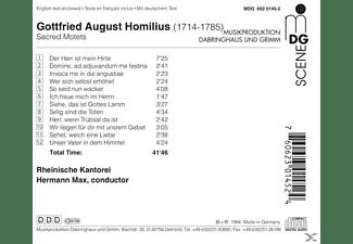 Herman Max, Rheinische Kantorei - Geistliche Motetten  - (CD)
