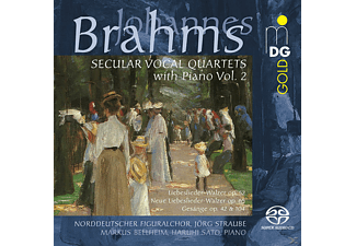 Jörg Straube, Haruhi Sato, Norddeutscher Figuralchor, Markus Bellheim - Weltliche Vokalquartette Mit Klavier Vol.2  - (SACD)