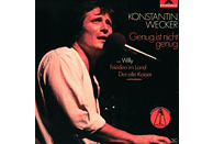 Konstantin Wecker - GENUG IST NICHT GENUG [CD]