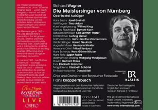 VARIOUS, Orchester Der Bayreuther Festspiele - Die Meistersinger Von Nürnberg  - (CD)