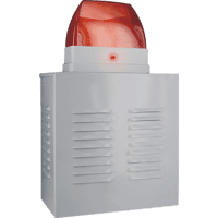 SMARTWARES SW SA11D  Dummy-Alarmsirene, Weiß/Rot