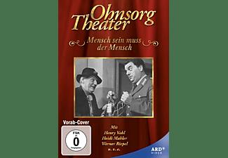 Mensch sein muß der Mensch - Ohnesorg Theater DVD
