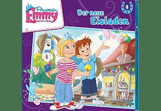 Prinzessin Emmy - Folge 8: Der Neue Eisladen  - (CD)