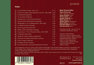 Ruben Dubrovsky, Bach Consort Wien - Vidala, Argenina And Roots Of E  - (CD)