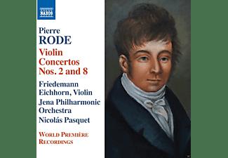 Friedemann Eichhorn, Jena Philharmonic Orchestra - Violinkonzerte 2+8  - (CD)