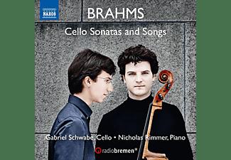 Gabriel Schwabe, Nicholas Rimmer - Cellosonaten Und Lieder  - (CD)
