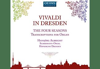 Hansjörg Albrecht, VARIOUS - Die Vier Jahreszeiten (Arr.Für Orgel)  - (CD)