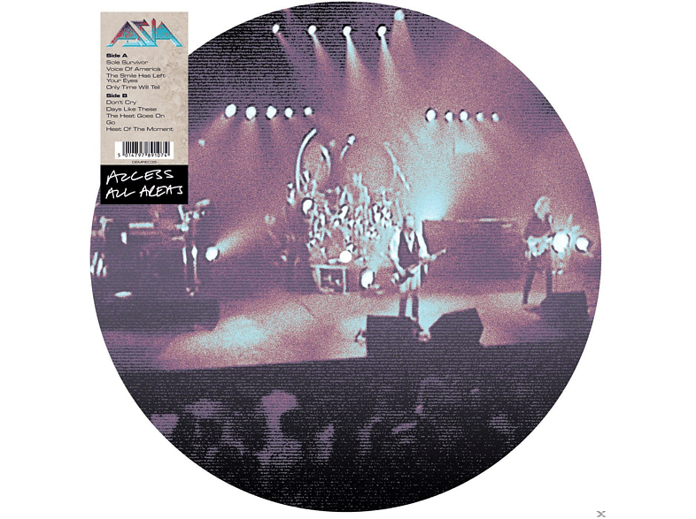 Asia - Access All Areas [Vinyl]