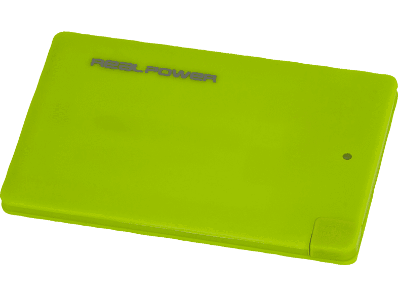 REALPOWER PB-2500 Slim Powerbank 2500 mAh Grün
