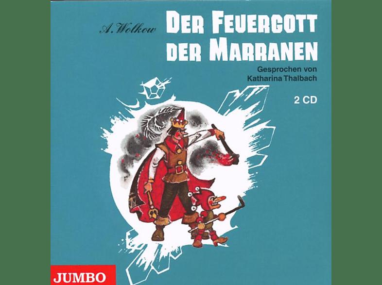 Zauberland - Band 4: Der Feuergott der Marranen - (CD)