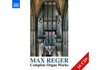 VARIOUS - Sämtliche Orgelwerke  - (CD)