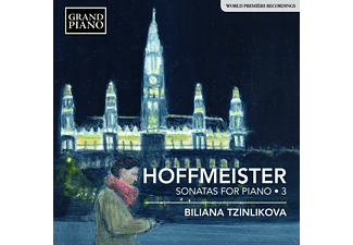 Biliana Tzinlikova - Klaviersonaten Vol.3  - (CD)