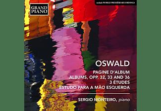 Monteiro Sergio - Klavierwerke  - (CD)