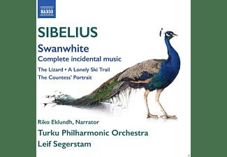 Turku Philharmonic Orchestra - Svanevit/Ödlan/Et Ensamt Skispar/+  - (CD)