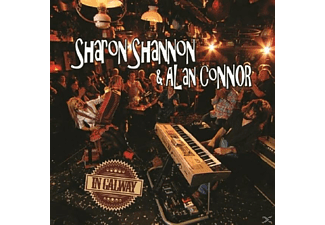 Shannon, Sharon & Connor, Alan - In Galway  - (CD)