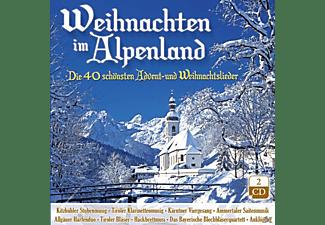 VARIOUS - Weihnachten Im Alpenland-Die 40 Schönsten Advent  - (CD)