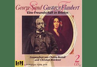 George & Gustave Flaubert Sand - Briefwechsel  - (CD)