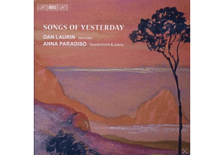 LAURIN/PARADISO - SONGS OF YESTERDAY - (CD)