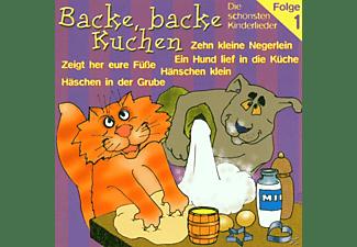 VARIOUS - Backe, Backe Kuchen-Folge 1  - (CD)