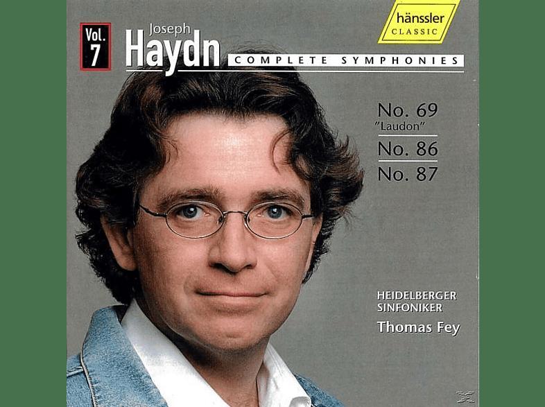 Heidelberger Sinfoniker - Sinfonien 69,86+87 [CD]