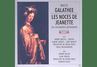 Orchestre De Opera Paris - Galathee/Les Noces De Jeanette  - (CD)