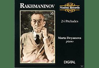 Marta Deyanova - Rachmaninov 24 Preludes  - (CD)