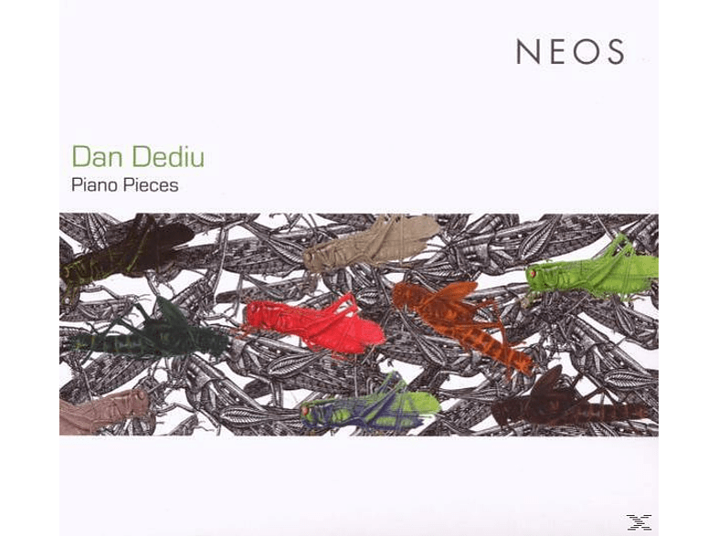 Dan Dediu - PIANO PIECES [CD]