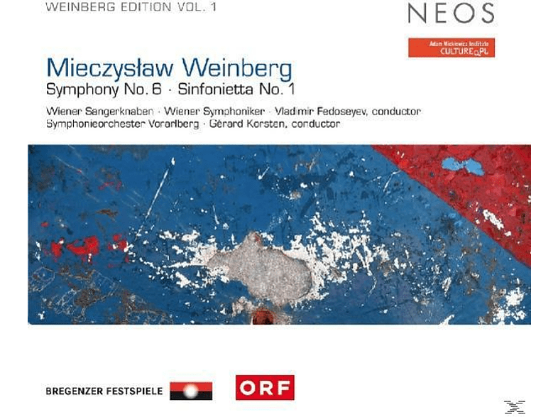 VARIOUS, Wirth/Fedoseyev/Korsten/Wiener Sängerknaben/Wiener - Weinberg Edition Vol.1: Sinfonie 6/Sinfonietta 1 [SACD Hybrid]