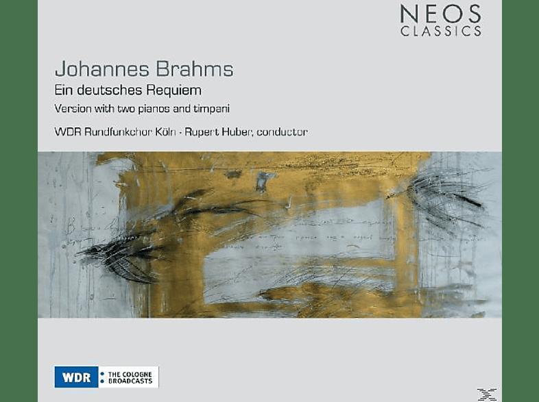 VARIOUS - Johannes Brahms: Ein deutsches Requiem (arr.2 Klaviere,gem.C [CD]