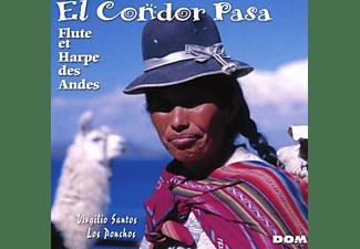 El Condor Pasa - El Condor Pasa-Flöte und Harfe der Anden  - (CD)