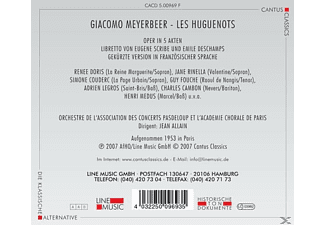 VARIOUS - Les Huguenots  - (CD)