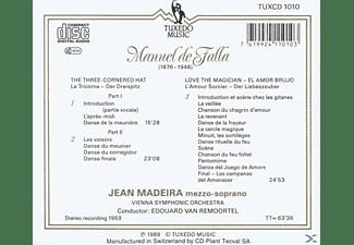 Van Remoortel, Madeira, Wiener S - Der Dreispitz/Liebeszauber  - (CD)