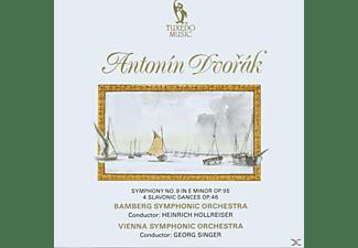 Hollreiser, Singer, Bamberger So - Sinfonie 9/Slaw.Tänze  - (CD)