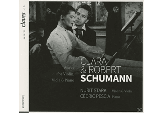 Nurit Stark, Cedric Pescia - Works For Violin, Viola & Piano  - (CD)