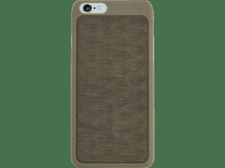 ORA ITO Wood Cover Ita Drapa , Backcover, Apple, iPhone 6, iPhone 6S, Grau