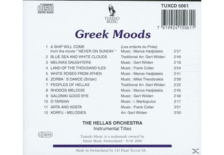 The Hellas Orchestra - Greek Moods  - (CD)