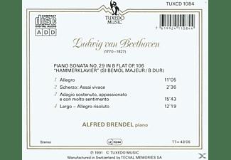 Alfred Brendel - KLAVIERSONATEN  - (CD)