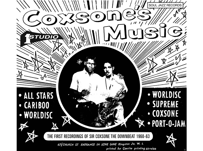 VARIOUS - Coxsone's Music 1960-1963(1) [LP + Download]