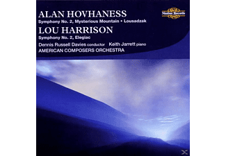 Davies, Jarrett, American Composers Orchestra, Davies/Jarrett/American Composers Orch. - Hovhaness/Harisson Sinf.2 - (CD)