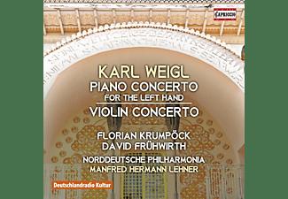 VARIOUS - Klavierkonzert/Violinkonzert  - (CD)