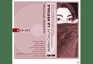 Maria Callas, Votto, Scala Milano - La Vestale-Digipack (Spontini, Gasparo Luigi Pacifi  - (CD)