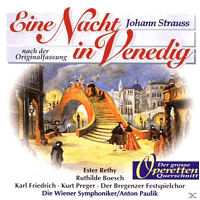 Paulik, Wsy, Bregenz.Festsp.Chor - Eine Nacht In Venedig (Qs) [CD]