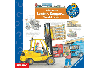 Wieso? Weshalb? Warum? Alles über Laster, Bagger und Traktoren  - (CD)