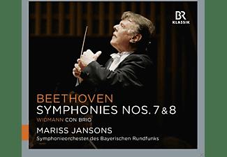 Mariss Jansons, Symphonieorchester Des Bayerischen Rundfunks - Sinfonien 7 & 8/Con Brio  - (CD)