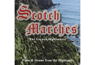 The Gordon Highlers - Scotch Marches  - (CD)