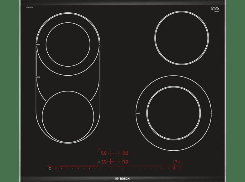 BOSCH PKM675DP1D Glaskeramikkochfeld (606 mm breit, 4 Kochfelder)