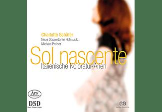 Charlotte Schäfer, Neue Dusseldorfer Hofmusik, Nicolo Jomelli - Sol Nascente-Ital.Koloratur-Arien  - (SACD Hybrid)